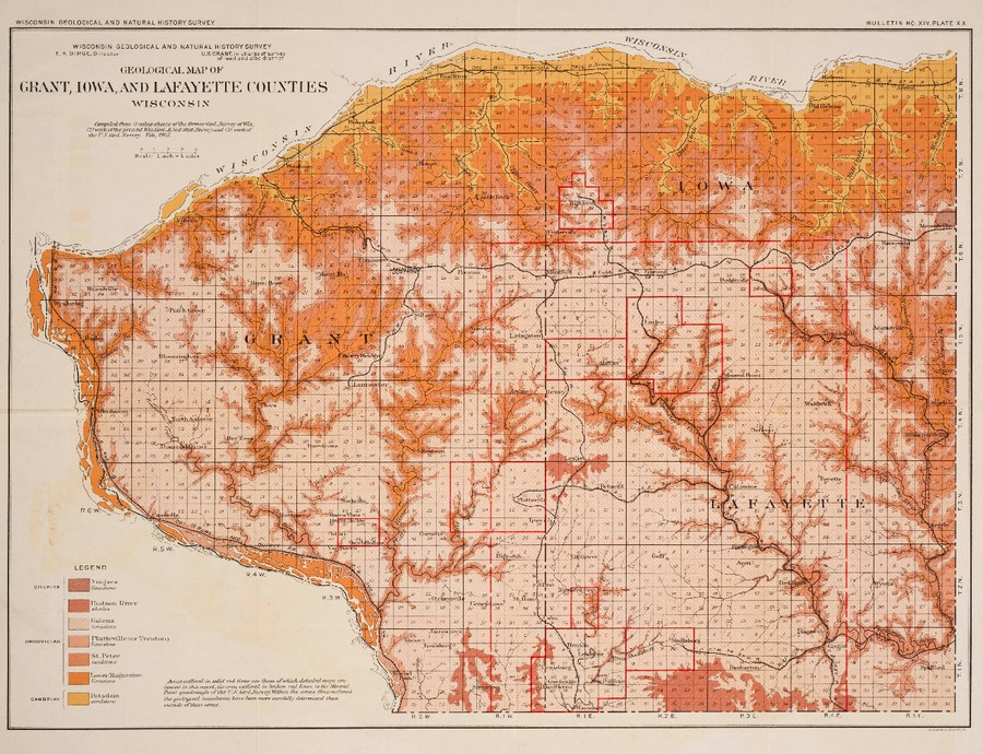 Wisconsin Geological Amp Natural History Survey 187 Plate 20