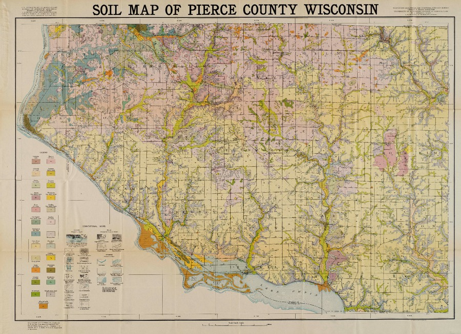 Wisconsin Geological Amp Natural History Survey 187 Map 1
