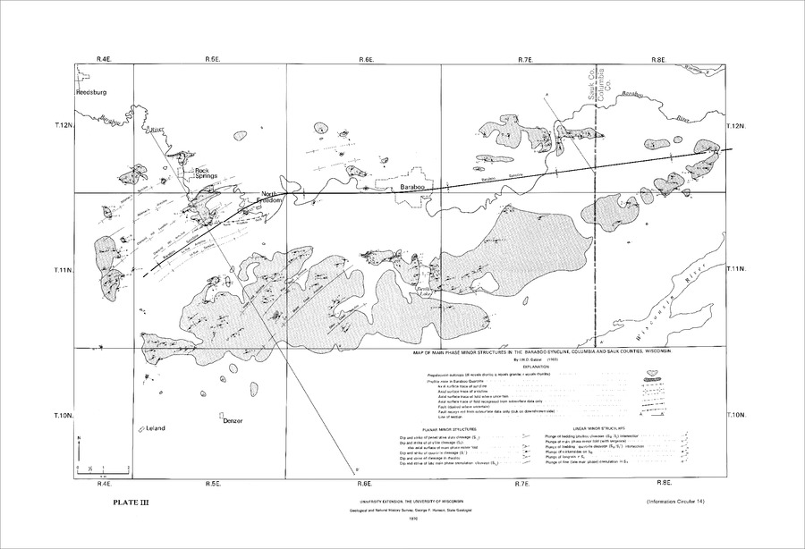 Wisconsin Geological Natural History Survey Geology Of The