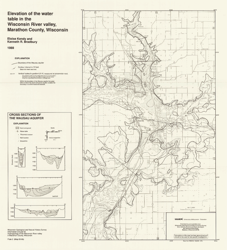 Wisconsin Geological & Natural History Survey » Plate 2