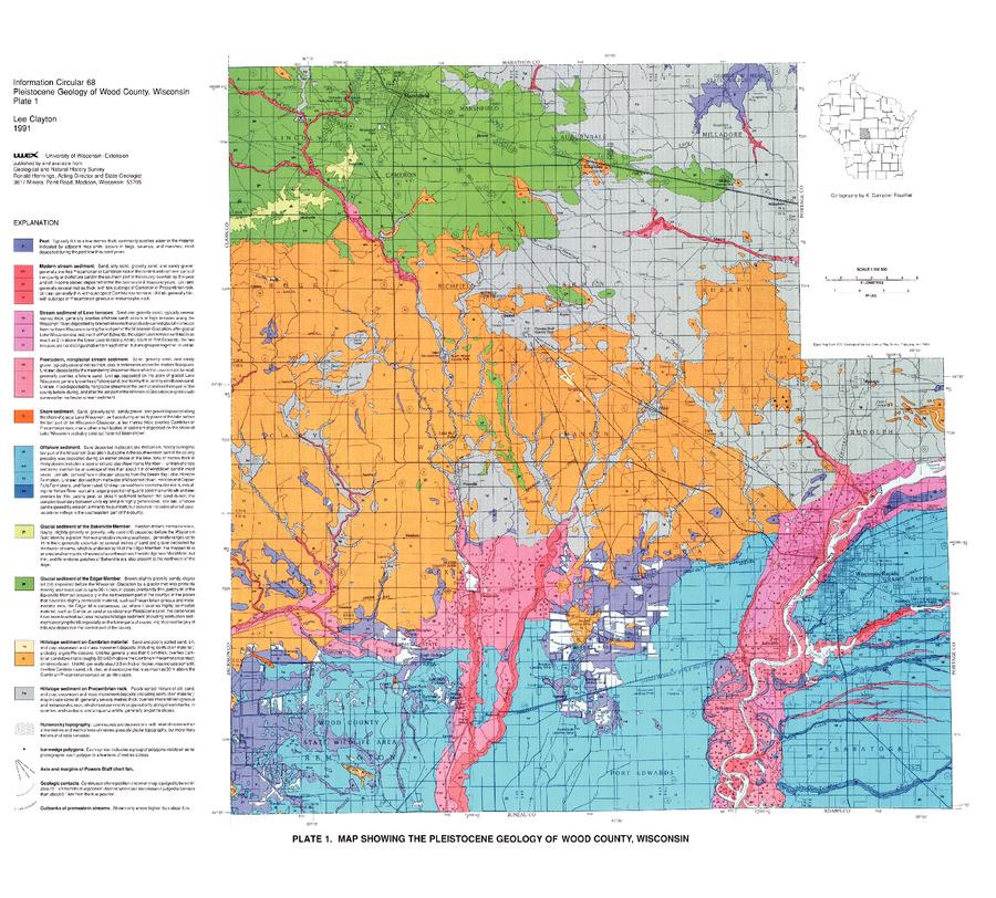 Cranmoor WI, Wood County, Wisconsin - Jack Straw from ... |Cranmoor Wood County Wisconsin Plat Map