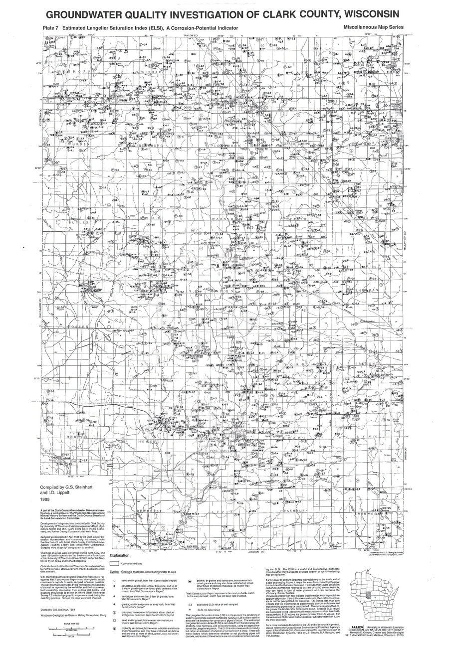 Wisconsin Geological Amp Natural History Survey 187 Plate 7