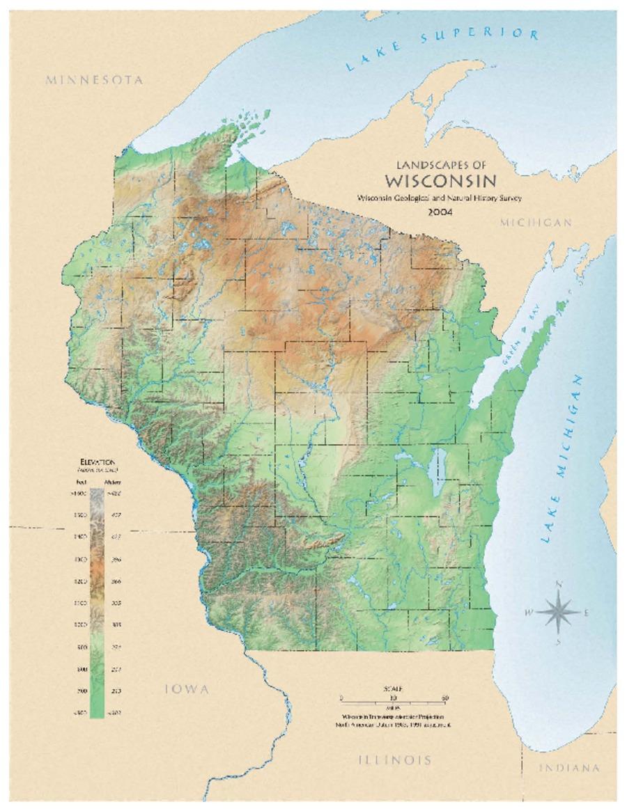 Wisconsin Geological Amp Natural History Survey 187 Landscapes