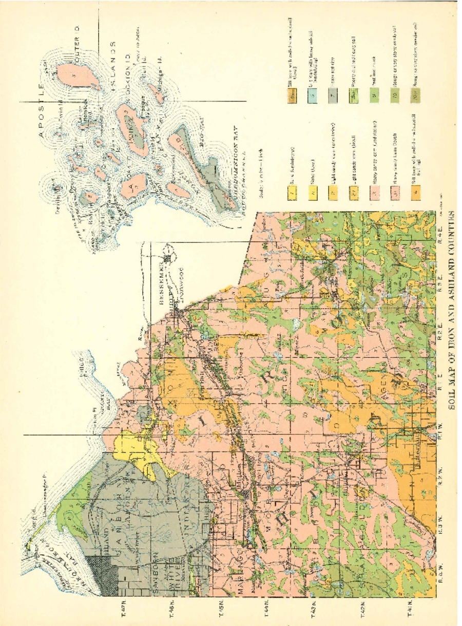 Wisconsin Geological Natural History Survey Soil Maps Of - A map of wisconsin