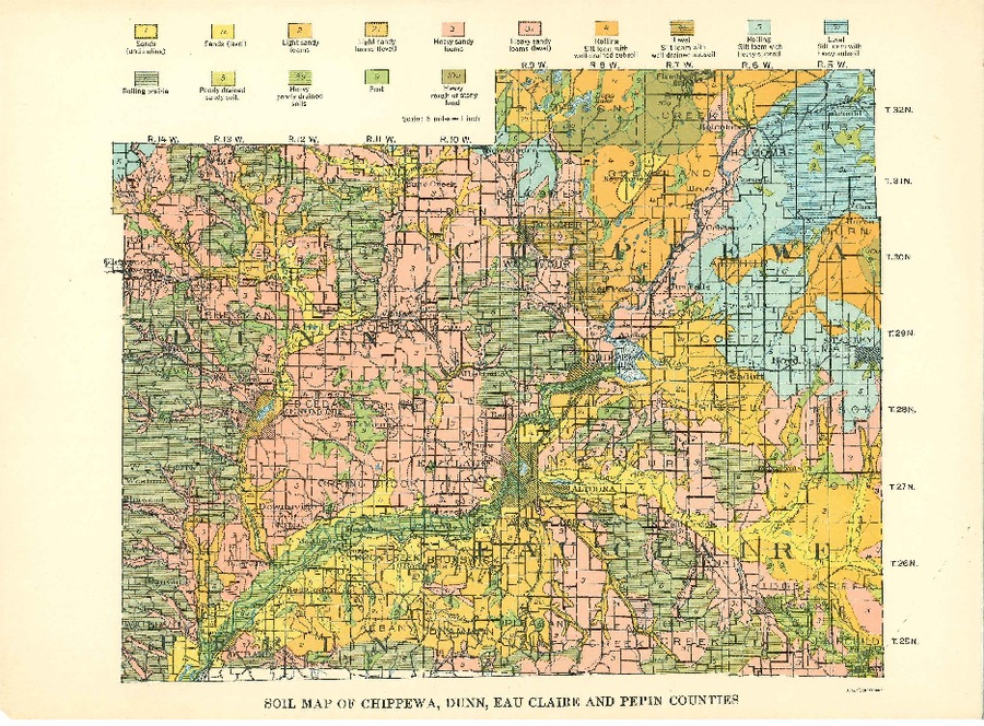 Wisconsin Geological & Natural History Survey » Soil Maps of ...