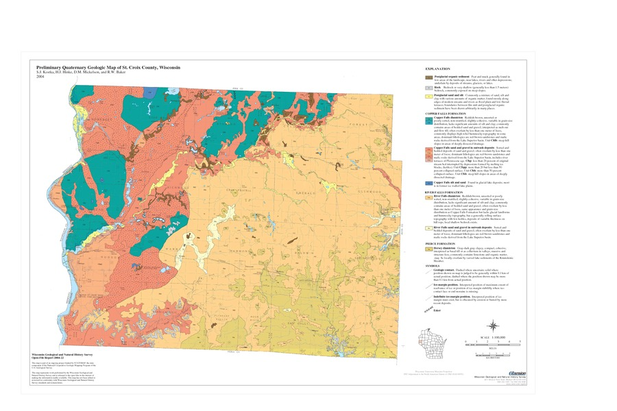 Wisconsin Geological & Natural History Survey » Preliminary ...