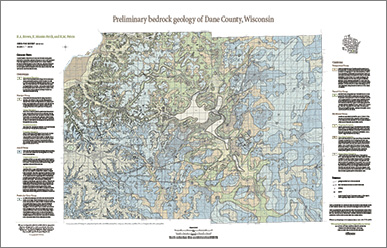 Wisconsin Geological & Natural History Survey » Maps & Data on
