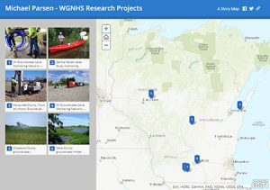 Image link for Mike Parsen's projects story map