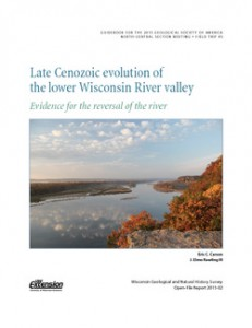 thumbnail image of Late Cenozoic Evolution of the Lower Wisconsin River Valley (WOFR2015-02)