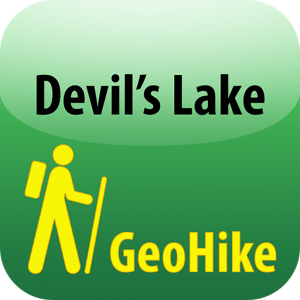GeoHike: Devil's Lake app icon