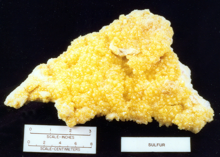 Wisconsin Geological Amp Natural History Survey 187 Sulfur