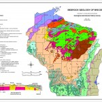 Bedrock Geology of Wisconsin (page-size map)