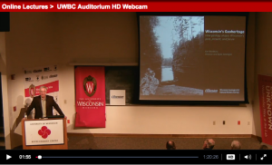 Ken Bradbury video - Wisconsin's geoheritage