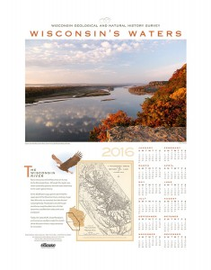 Wisconsin's Waters, 2016 (Calendar)