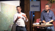 Elmo Rawling speaking at Science on Tap
