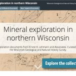image link to the Mineral Exploration in Northern Wisconsin web app