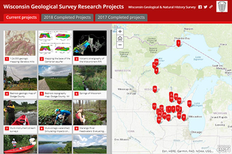 Image link to Survey Projects Story Map