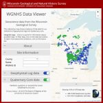 Image link to WGNHS Data Viewer web app