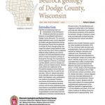 Supplemental report for the Dodge County bedrock map